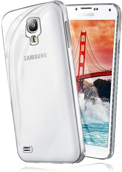 moex Samsung Galaxy S4   Hülle Silikon Transparent Klar Clear Back-Cover TPU Schutzhülle Dünn Handyhülle für Samsung Galaxy S