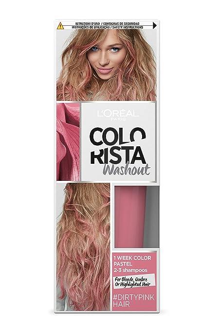 128 opinioni per L'Oréal Paris Colorista Washout Pastel Colorazione Temporanea 1 Settimana, Rosa