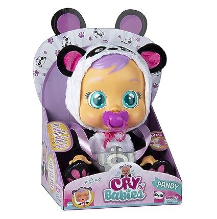 IMC Toys 98213 Pandy - Muñeca Bebés Llorones, Multicolor