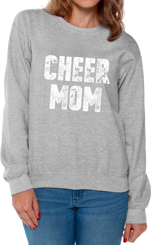 Awkward Styles Cheer Mom Sweatshirt Cheerleader Gifts for Mom Funny Mom Sweater