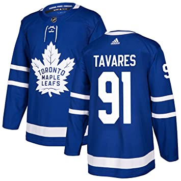 6db7b0e82 adidas John Tavares Toronto Maple Leafs NHL Men's Authentic Blue Hockey  Jersey, Jerseys - Amazon Canada