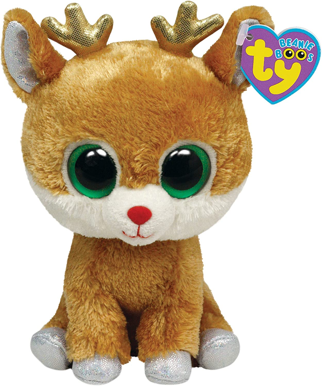 Alaska Stuffed Animals, Amazon Com Ty Beanie Boos Alpine Reindeer Toys Games