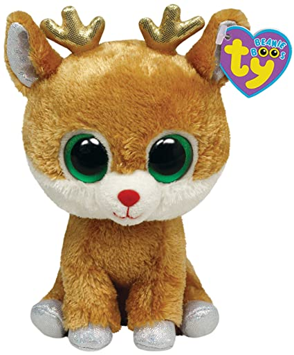190c2b7469d Image Unavailable. Image not available for. Color  Ty Beanie Boos Alpine -  Reindeer
