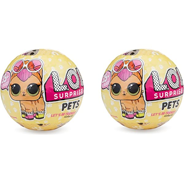 NEW AUTHENTIC LOL SURPRISE PETS SERIES 3-7 Layers Blind Bag 1 BALL