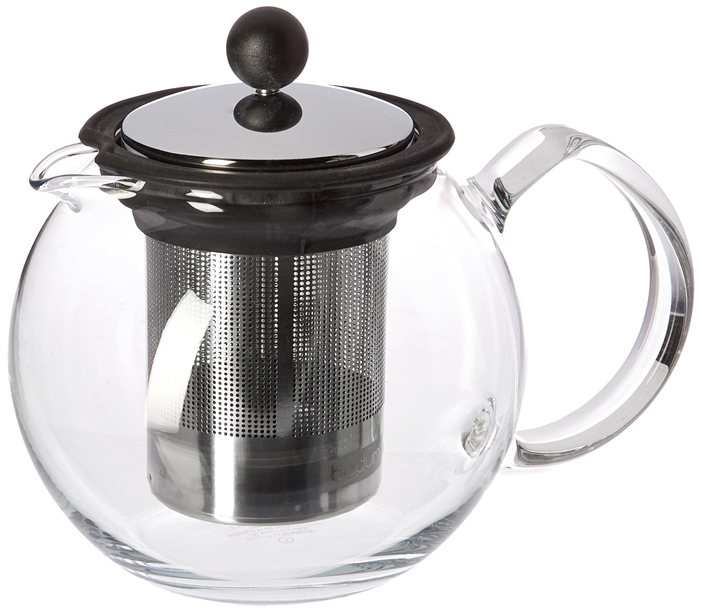 Bodum Assam Tea Press with Stainless Steel Filter, 17-Ounce