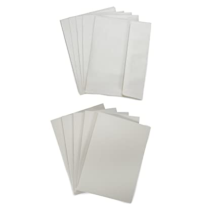 amazon com darice coordination s a7 size cards and envelopes set