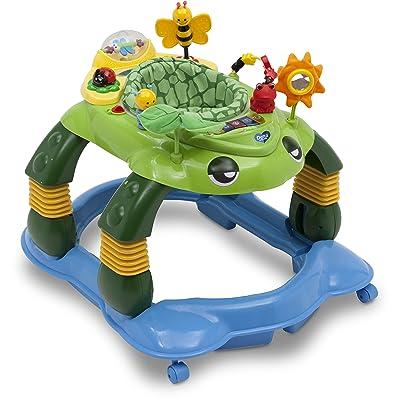 Delta Children Mason The Turtle Lil' Play Station 3-in-1 Activity Walker : Baby