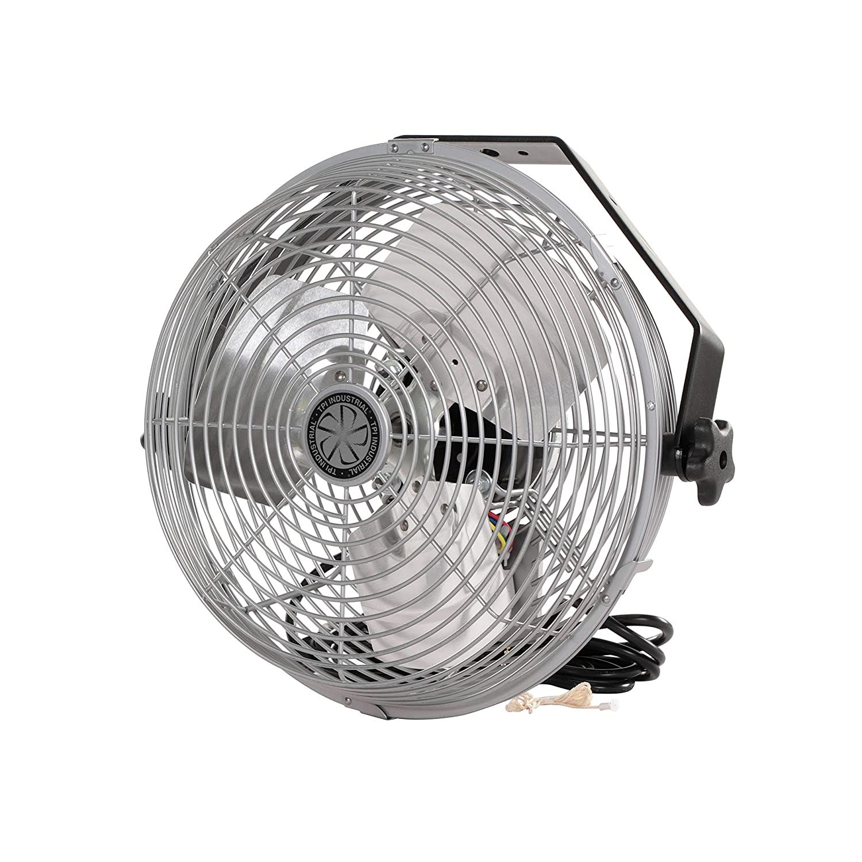 "TPI Corporation U12-TE Industrial Workstation Fan, Mountable, Single Phase, 12"" Diameter, 120 Volt"