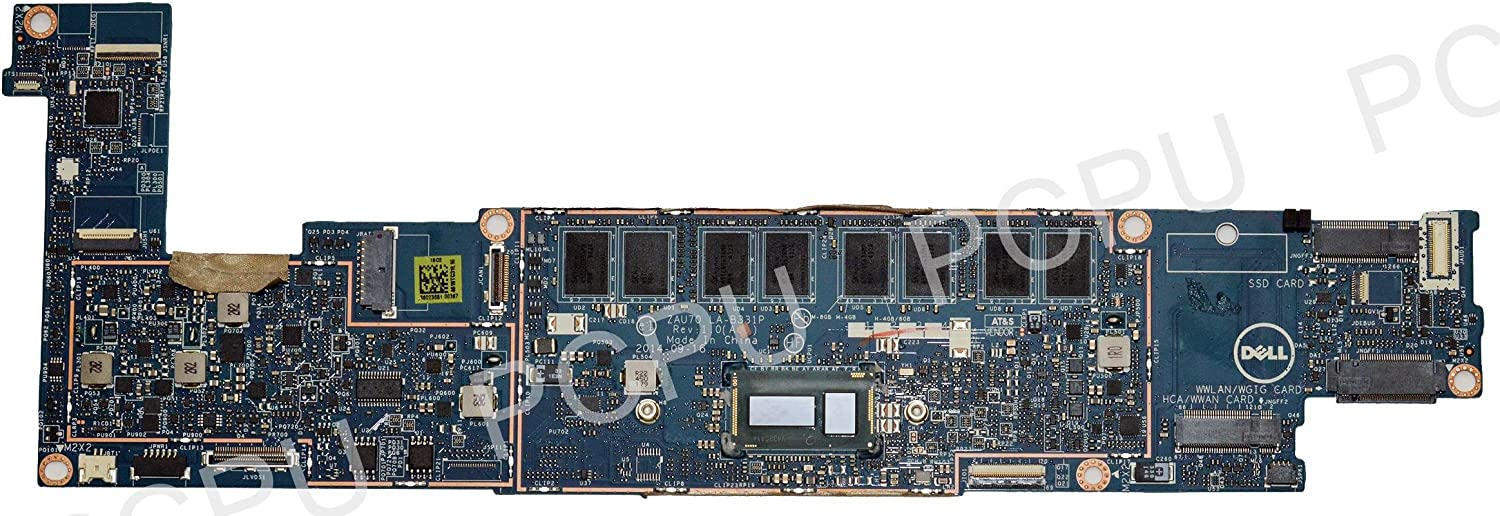 Dell Latitude 13 7350 Motherboard Intel Core M-5Y71 1.2GHz 8GB LA-B331PV TRWNX