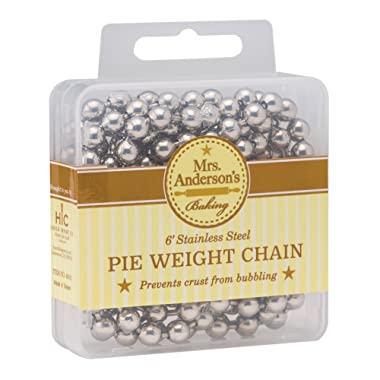 Mrs. Anderson's Baking Pie Crust Weight Chain, 6-Feet Long