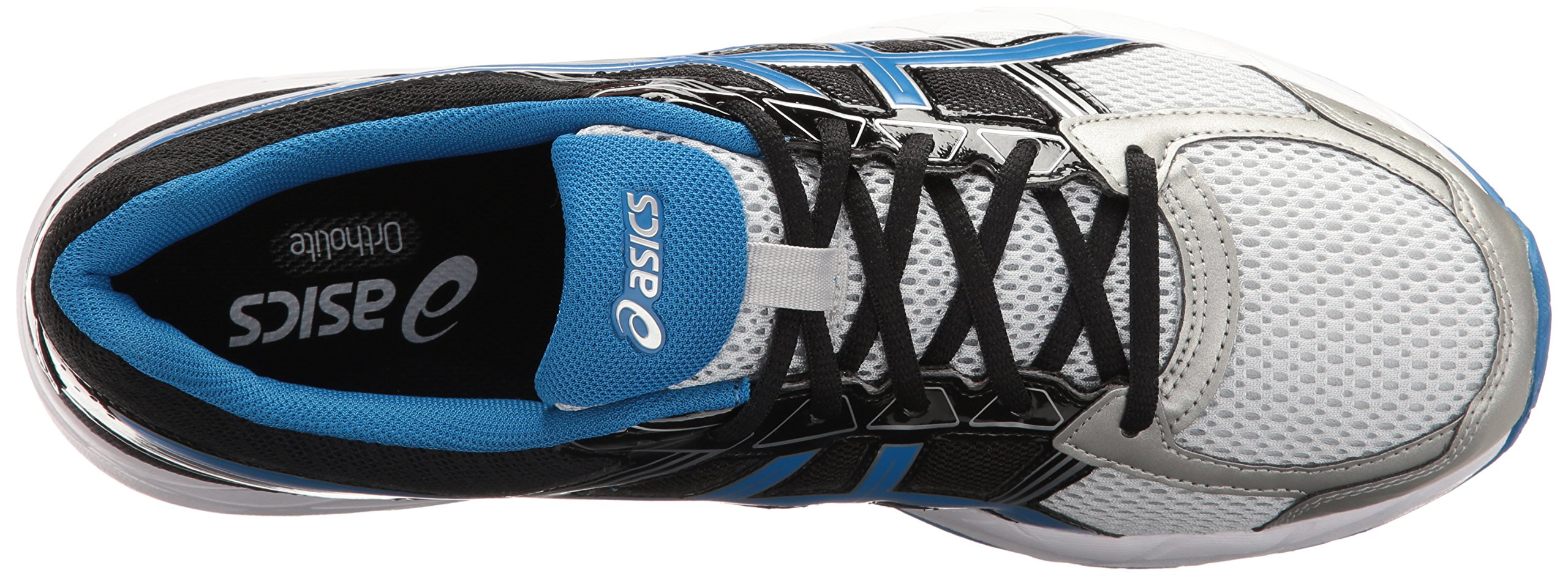 ASICS Men's Gel-Contend 4 Running Shoe, Silver/Classic Blue/Black, 7.5 M US by ASICS (Image #8)