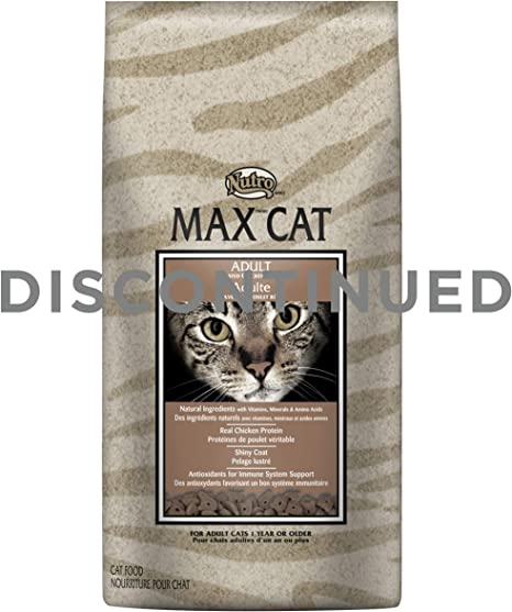 Nutro MAX CAT Adult Dry Cat Food, Roasted Chicken, 3 lbs. by Nutro ...