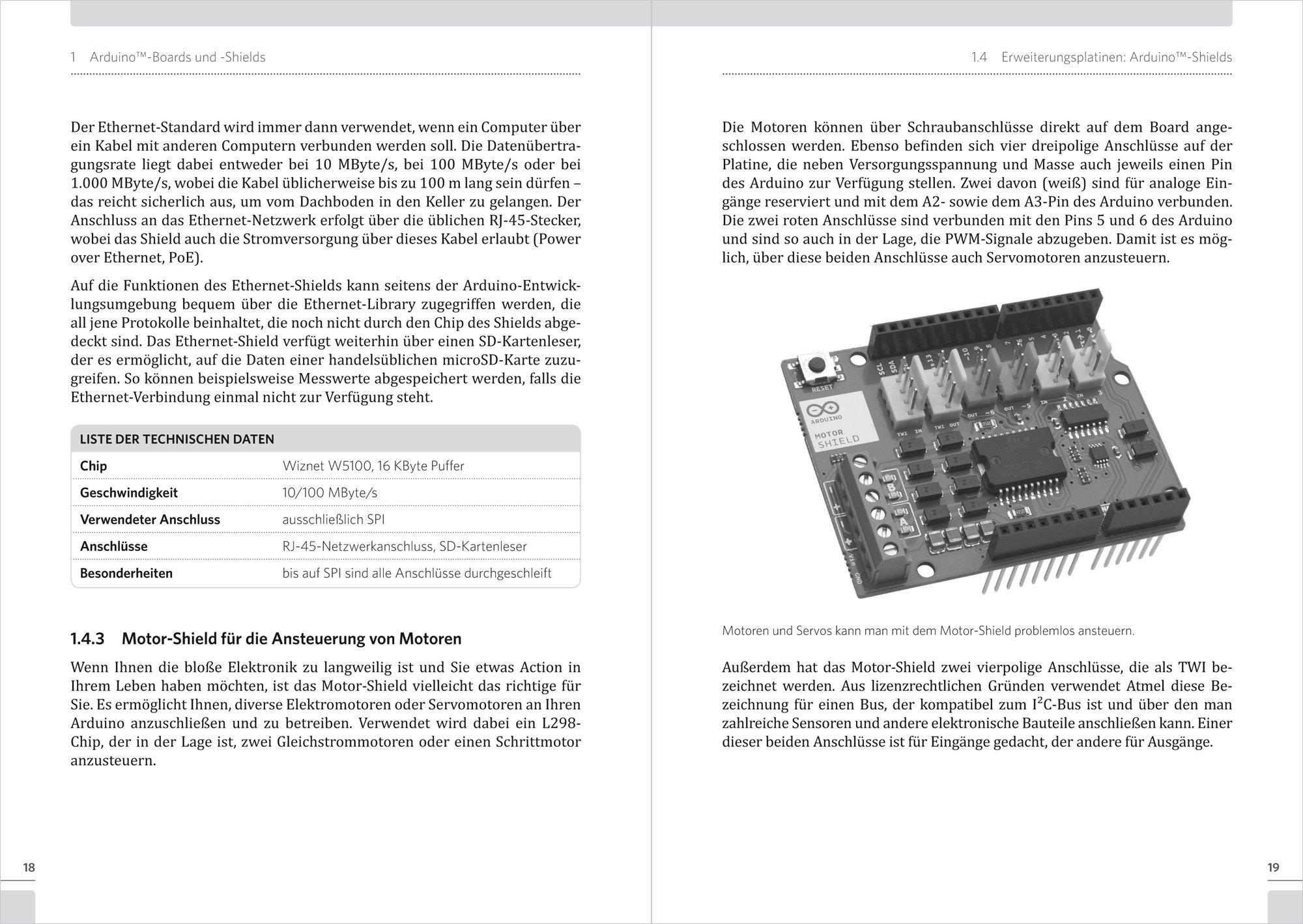 Schnelleinstieg Arduino: Alles über Boards, Shields, Installation ...