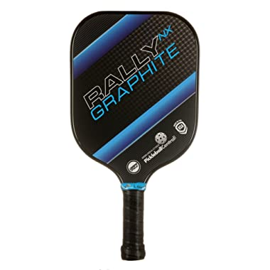 Pickleball Paddle – Rally NX Graphite Pickleball Paddle | Composite Honeycomb Core, Graphite Carbon Fiber Face | Lightweight | Pickleball Sets, Pickleballs, Paddle Covers Available | USAPA Approved