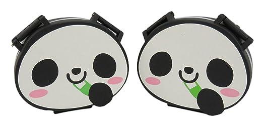 Amazon Com Adorable Panda Pill Case Box Organizer White Black Set Of  Health Personal Care