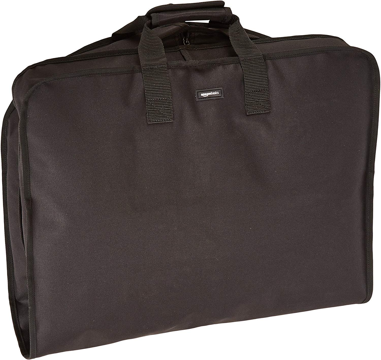 Travel Hanging Luggage Suit Garment Bag - 22 Inch, Black