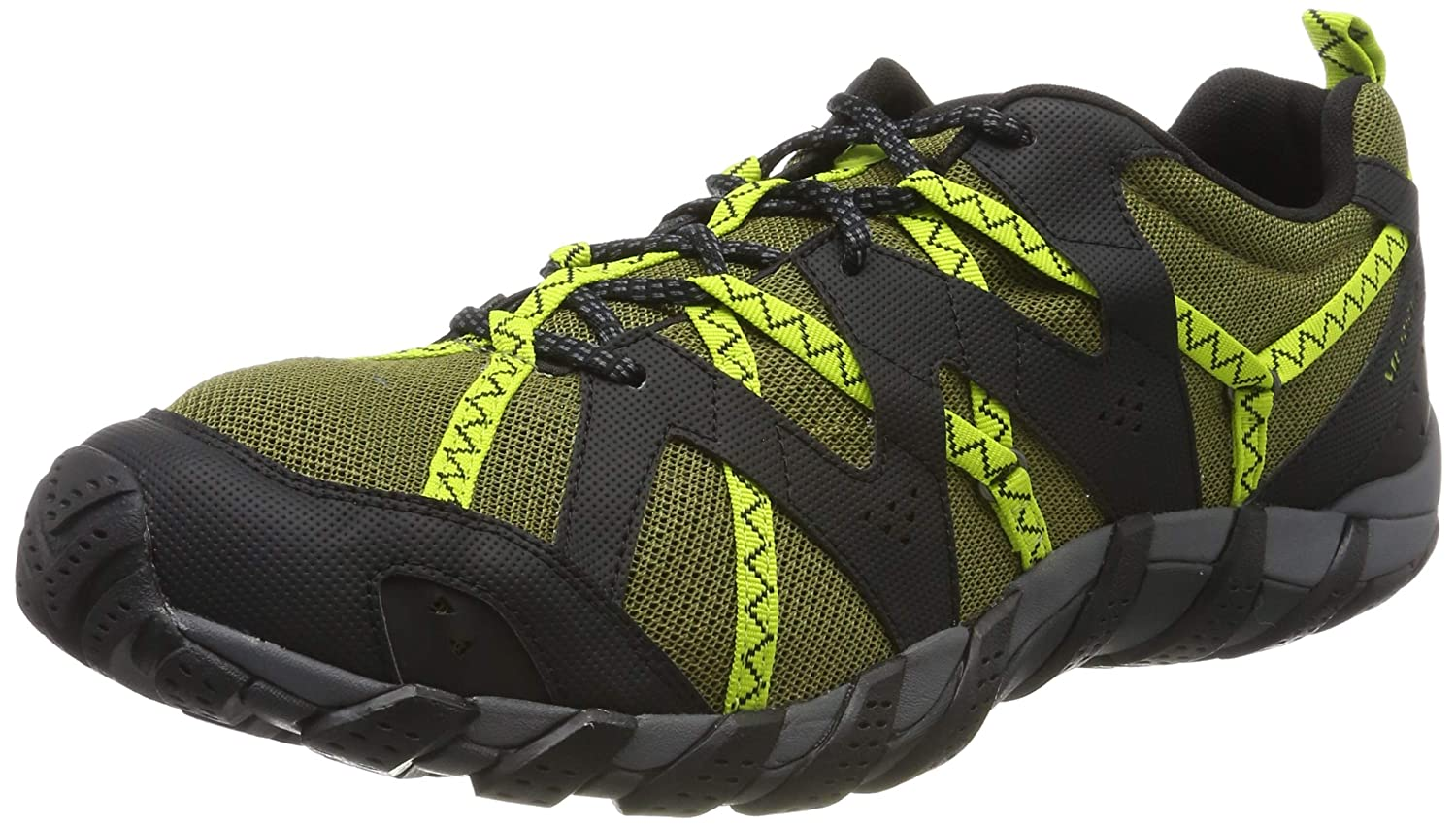 Vert (Olive Lime Olive Lime) Merrell Mens Waterpro Maipo 2 Chaussures De Marche 49 EU