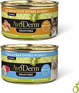 AvoDerm Natural Entree Chicken and Duck in Gravy for Cats