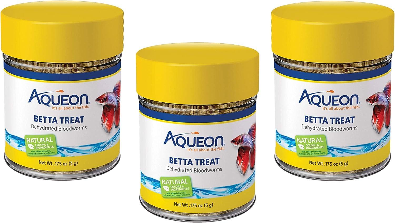 Aqueon Betta Bloodworm Treat, 0.175 Ounce