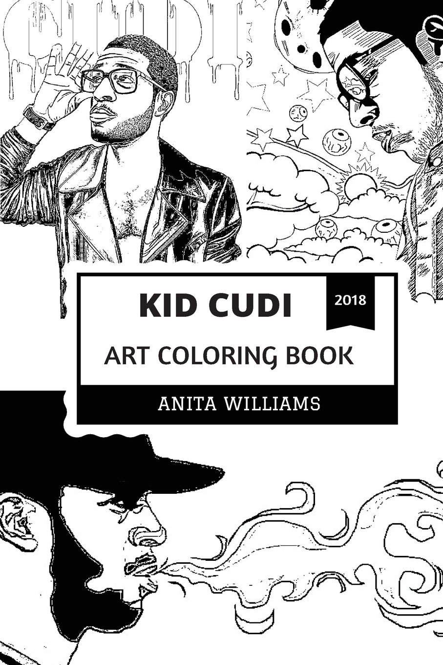 Kid Cudi Art Coloring Book Alternative Hip Hop And New Rock Prodigy