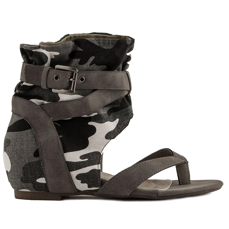 Toocool - Zapatillas de Material Sintético para mujer Gris Size: 37 W0ytPUcLW