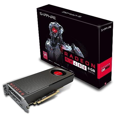 Sapphire 21260 – 00 – 20 G – Tarjeta gráfica AMD RX 480 1085 MHz 8 GB PCI Expess