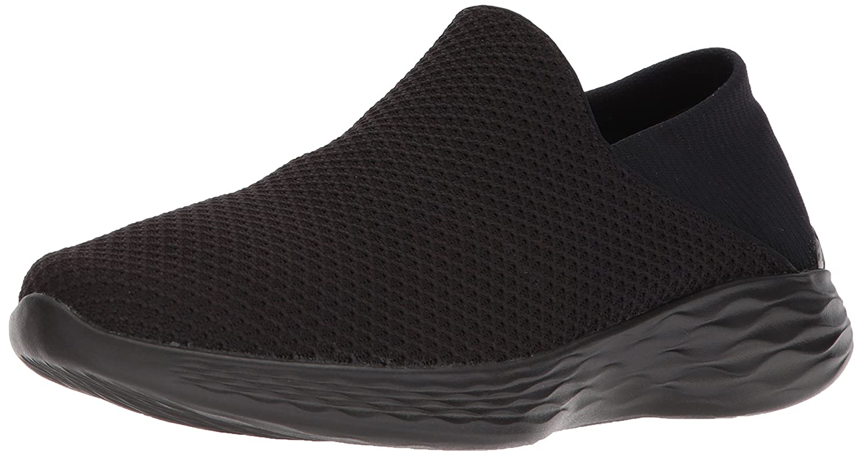 Skechers Women's You Walking Shoe B01M5J8TEX 9.5 B(M) US|Black