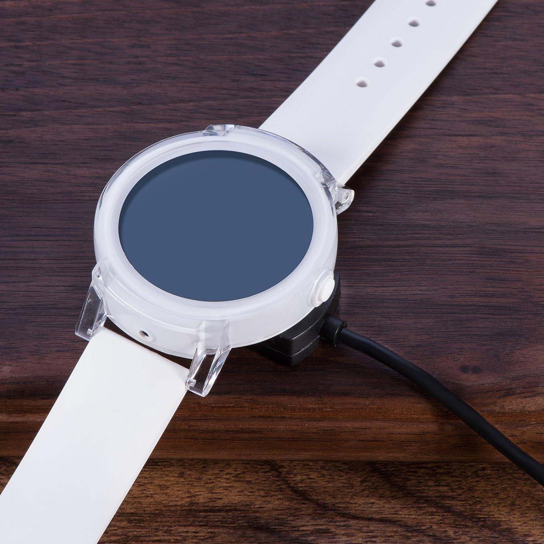 Amazon.com: Para ticwatch e/ticwatch S cargador, soporte de ...
