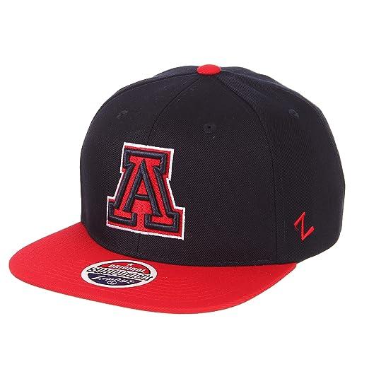 78da25c8 Zephyr NCAA Arizona Wildcats Men's Z11 Invert Snapback Hat, Adjustable, ...