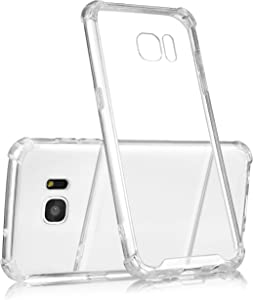 technext020 Galaxy S7 Edge Clear Case, Galaxy S7 Edge Case Silicone Protective Back Cover Slim Fit Samsung Galaxy S7 Edge Bumper