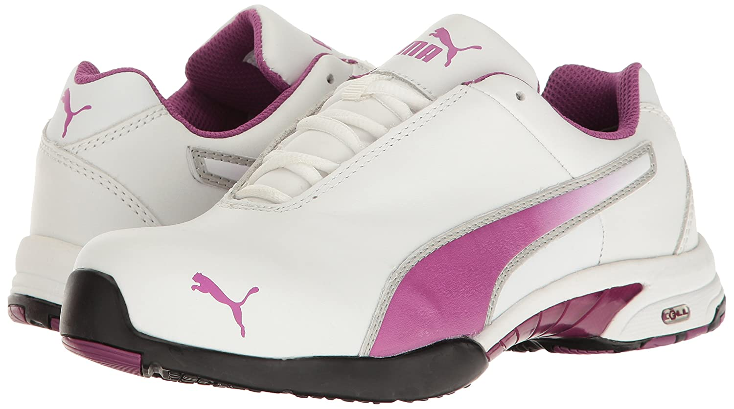 PUMA Safety Womens Velocity White SD B01MSX2CG2 8.5 B(M) US|White
