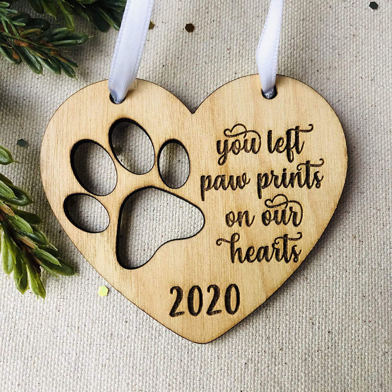 Keepsake Christmas Ornament 2020 Pet Memorial Amazon.com: Pet Memorial Dog Ornament   2020 dated   Christmas