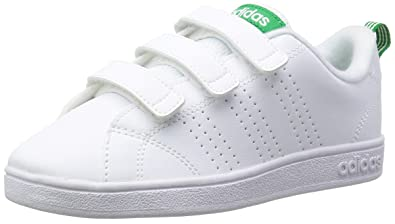 best sneakers ce615 a93ef adidas Vs Advantage Clean Comfort Baskets Mixte Enfant, Blanc Footwear  WhiteGreen 0,