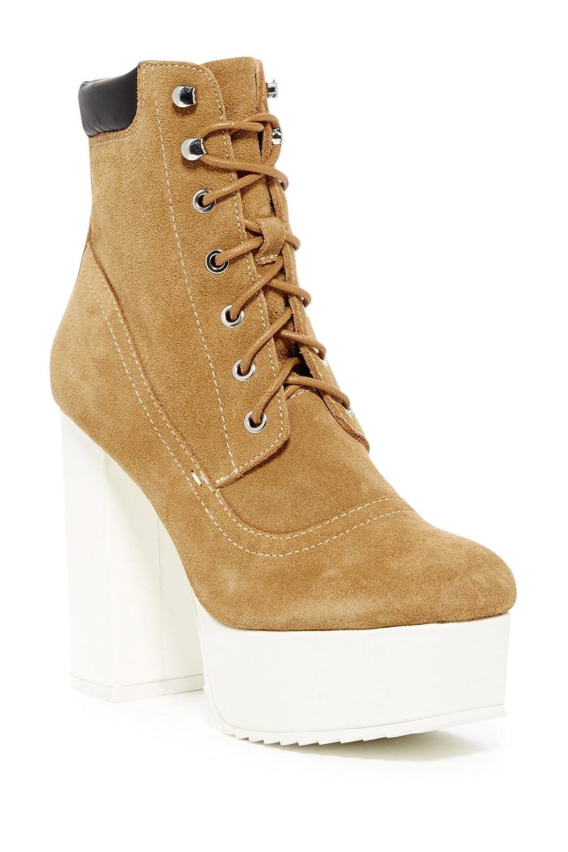 b5ae2f79cf5 Amazon.com | Shellys London Evan Tan Suede Lace Up Platform Lug Sole  Jeffrey Ankle Boot Abner | Ankle & Bootie