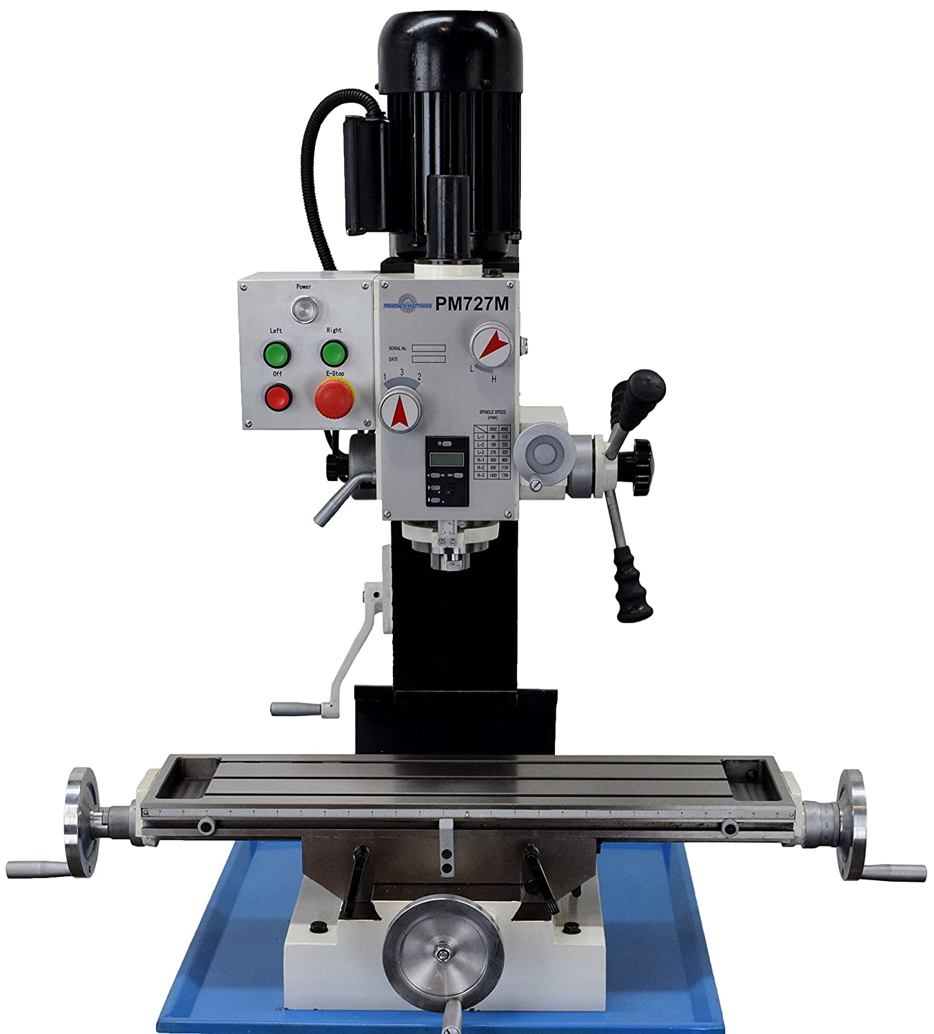 Precision Matthews Pm-727m Milling Machine