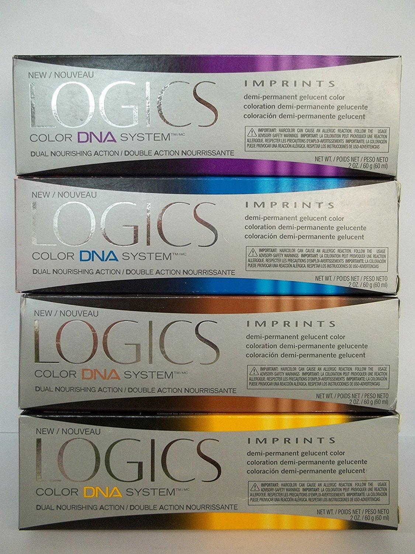 Amazon Logics Imprints Sheer Demi Permanent Hair Color 2oz V