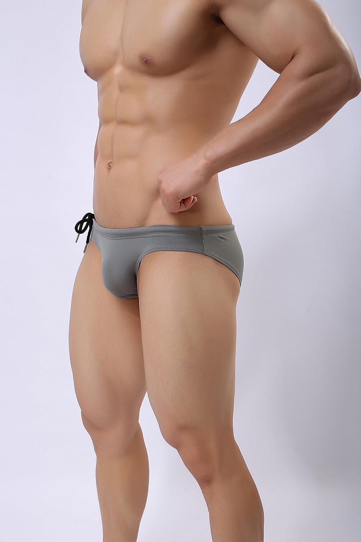 Brave Person Perfect Undies Mens Fashion Low-Rise Swimming Briefs Bikini Swimwear 1156