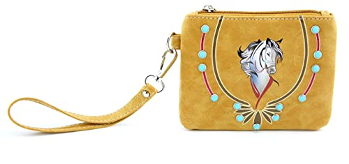 3c51144f27c3 Wristlets Y.C Small Coin Wallet PU Leather Pouch Waterproof Wristlet ...