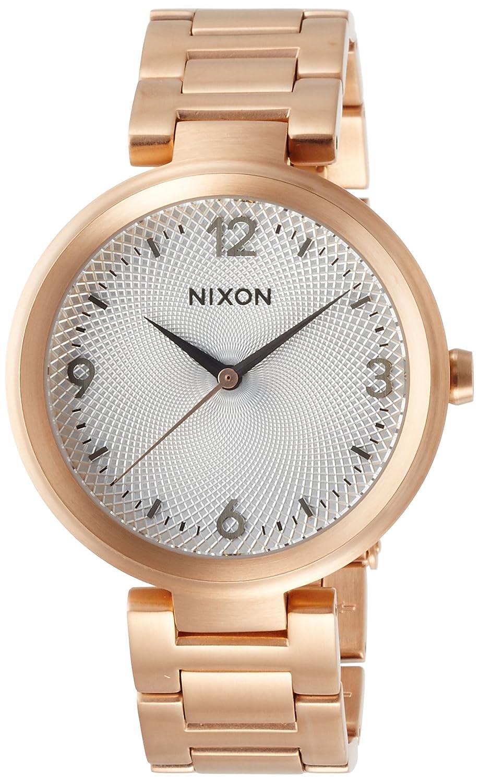 [ニクソン]NIXON 腕時計 CHAMELEON: ROSE GOLD/SILVER NA9912369-00 レディース 【正規輸入品】 B01HEWO3WM
