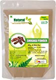 Natural Shikakai Powder by Natural Health and Herbal Products - 227 Gram