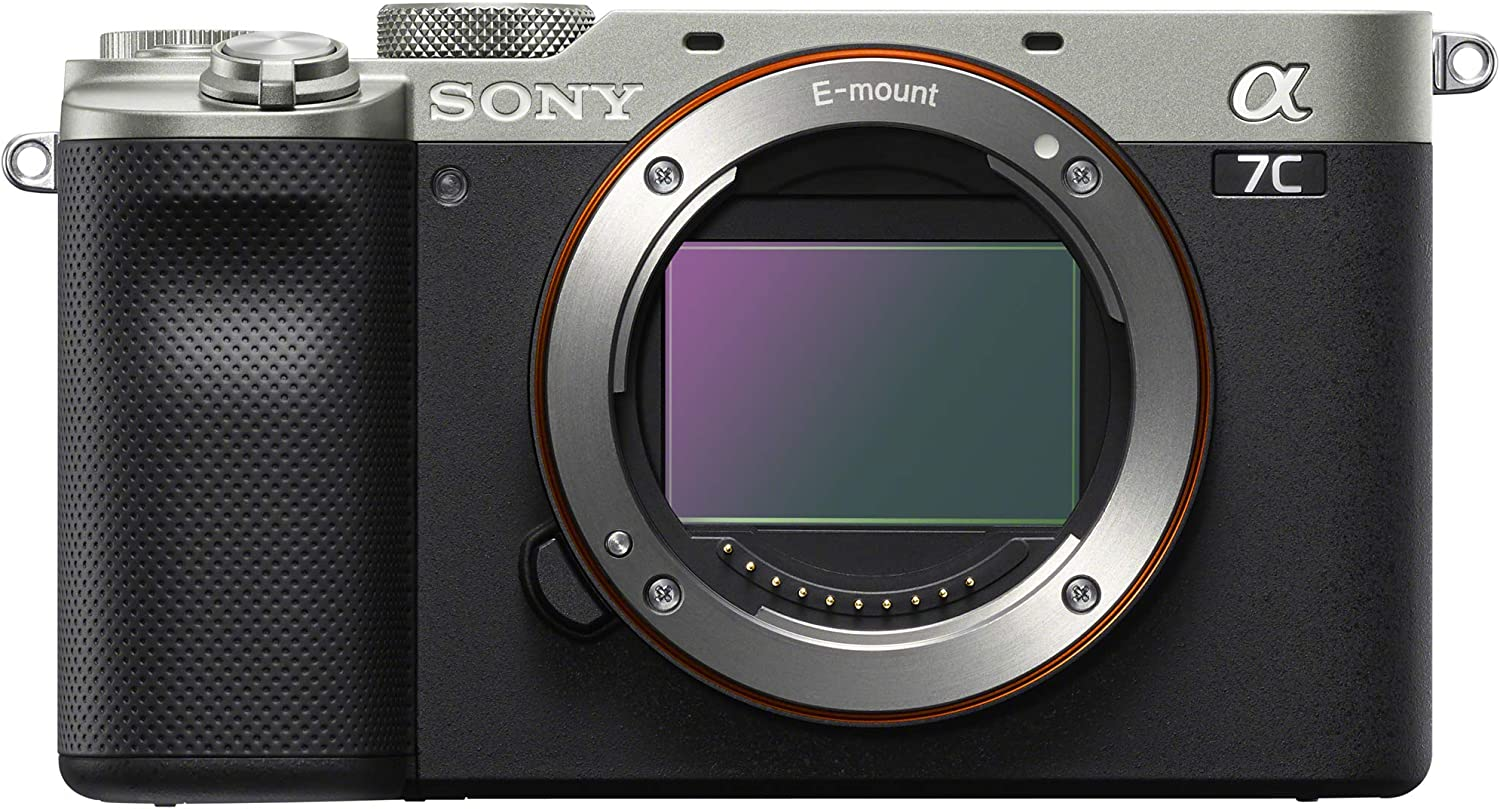 Extra Battery Software Kit and Accessories Flash 64GB Card Sony a7C Mirrorless Full Frame Camera Alpha 7C Interchangeable Lens Body Only Silver ILCE7C//S Bundle with Deco Gear Case Filters