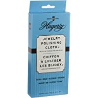 W. J. Hagerty Hagerty Pano de polimento de joias de prata 30 x 38 cm, bege claro, 30 x 38 cm, cinza