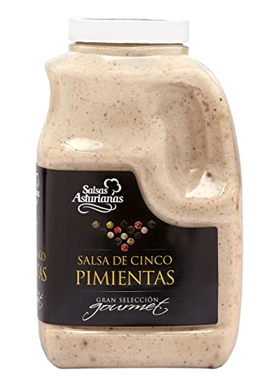 Salsas Asturianas Salsa Cinco Pimientas - 1000 gr