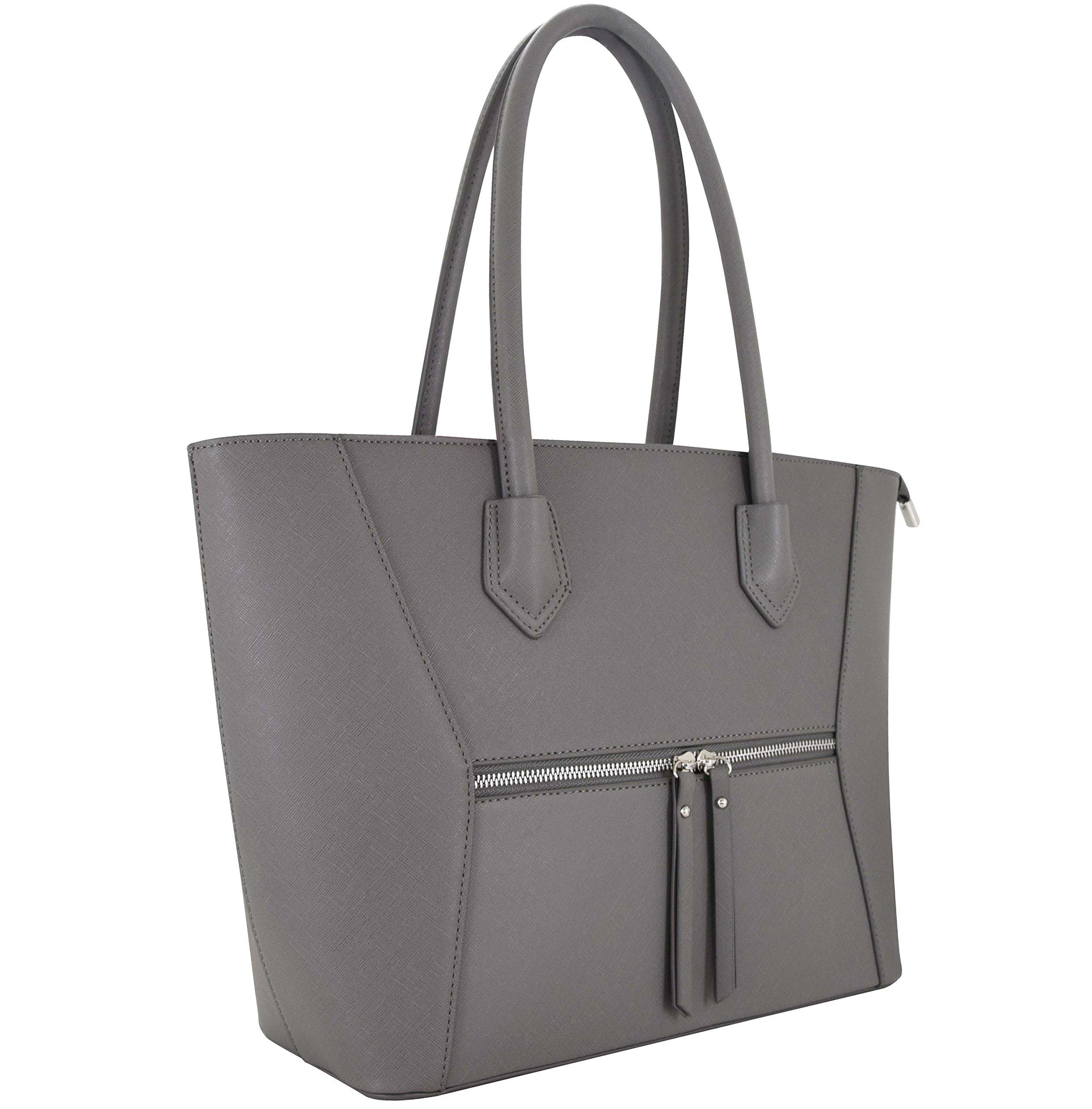 2fd00cdbeab17 Vanessa   Melissa (Farbauswahl) Damen Handtasche Kunstleder TÜV geprüft groß  Schultertasche Shopper A4 Sale