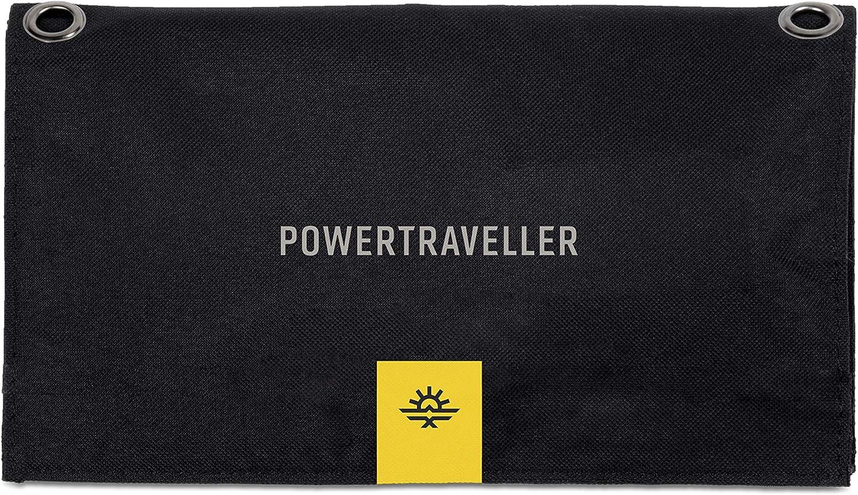 GPS Tablet 5V USB and 20V DC outputs Powertraveller Falcon 21: Portable 21-Watt Folding Solar Charger Charges Laptop Act Smartphone Lightweight under 40-Watt Splashproof SAT Phone Rugged