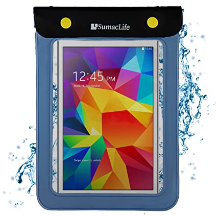 Amazon.com: SumacLife Blue Waterproof Stay Dry Tablet Bag ...