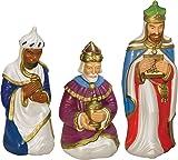 Nativity Scene Three Wiseman Set with Light