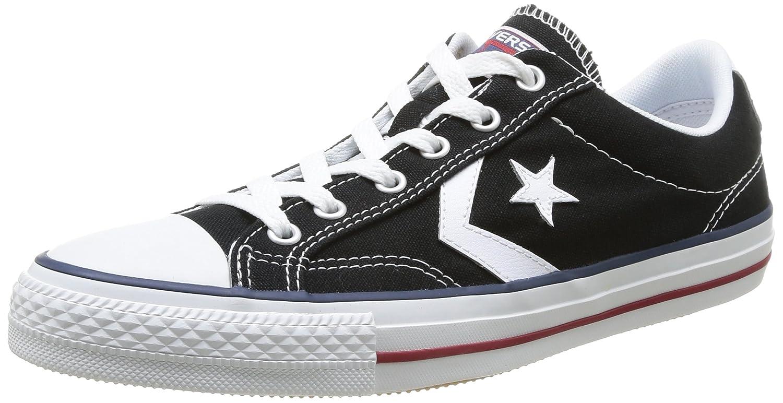 Converse Sp Core Canv Ox 289161-52-10 Unisex - Erwachsene Sneaker  42 EU (85 UK)|Schwarz (8 Noir/Blanc)