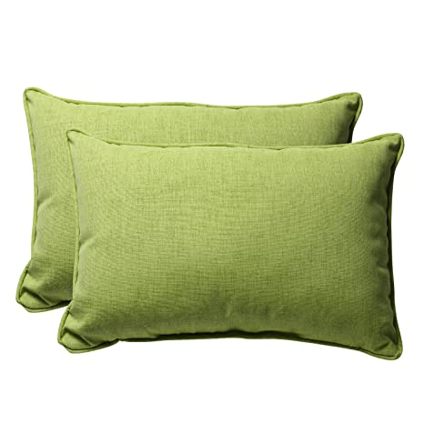 Amazon.com: Almohada perfecto decorativas verde sólido con ...