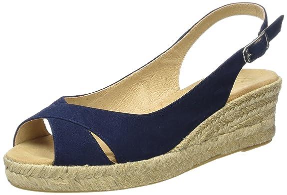 Unisa CAMPI_17_KS, Alpargatas para Mujer, Azul (Ocean), 39 EU: Amazon.es: Zapatos y complementos